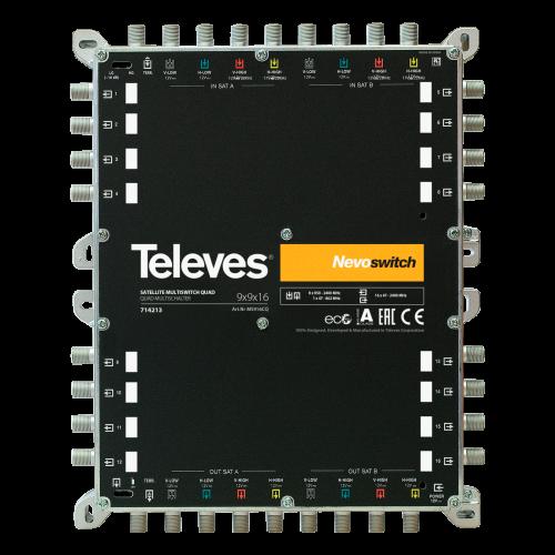 Ts714243 Televes Nevoswitch 9x9x16