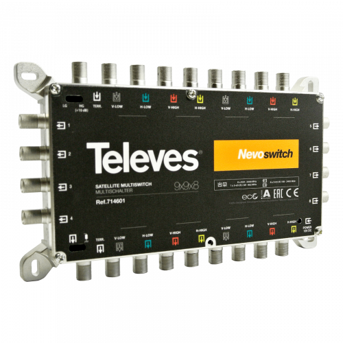 Ts714601 Televes Nevoswitch 9x9x8 2