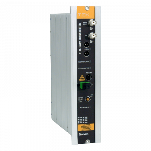 234811 Televes T.0x Optical Transmitter 1310nm 10 Dbm