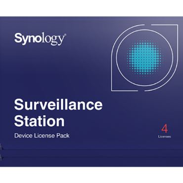 Synology 4 Camera Licentie