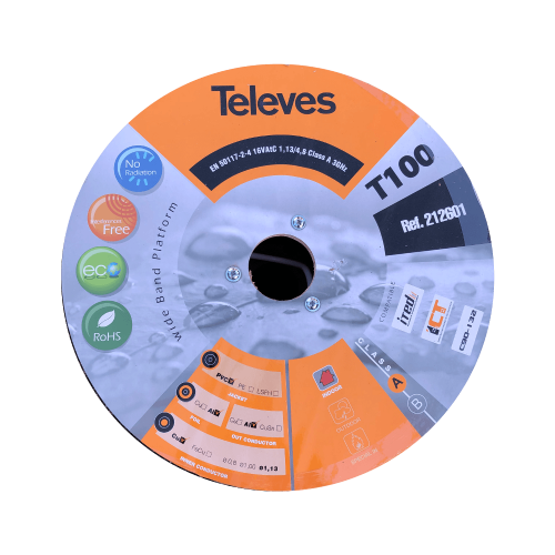 212601 Televes H125 Coax 4