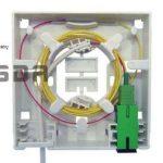 Fo10034 2 Optische Aansluitdoos Terminal Box Wandmontage 2 X Sc