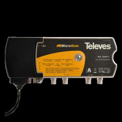 534211 Televes Microkom Versterker