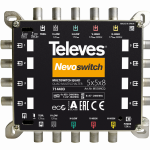 714403 Televes Nevoswitch Quad 5 In 8 Out