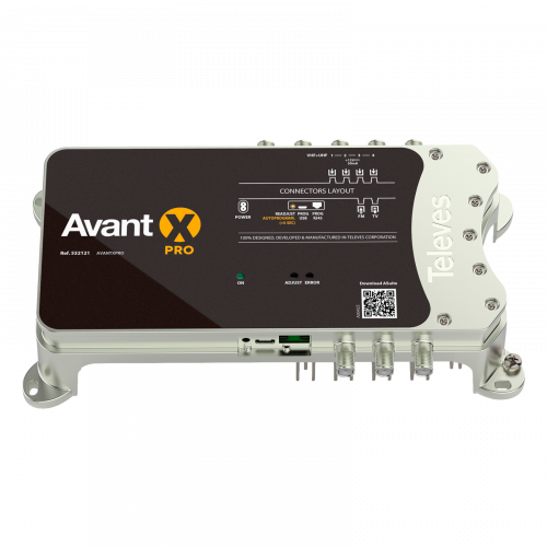532121 Televes Avant X Pro Programmeerbare Multiband Versterker Autolte 2