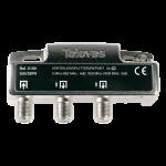 5150 Televes Splitter 2 Weg 5..2400 Mhz. Dc Diode